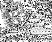 1888 German Map of Auckland