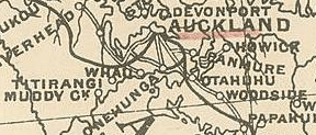 1897 North Island Map