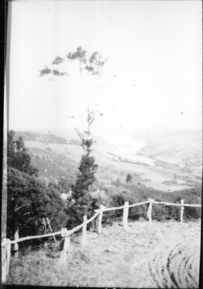 View from Titirangi.,Garlick, Una, 1883-1951, photographer,PH-NEG-14039