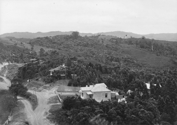 [Titirangi residence],Richardson, James Douglas, 1877-1942, photographer,PH-ALB-27