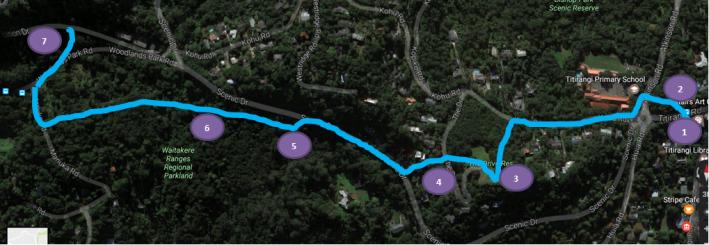 Waitakere Gateway Map